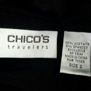 Chico's Sweaters - Chico's Travelers size 2 black cardigan